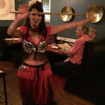 Kinikia Belly Dance with Cane