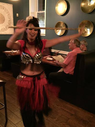Kinikia Belly Dance with Cane