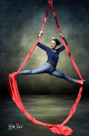 Aerial Dance, More Than Fitness