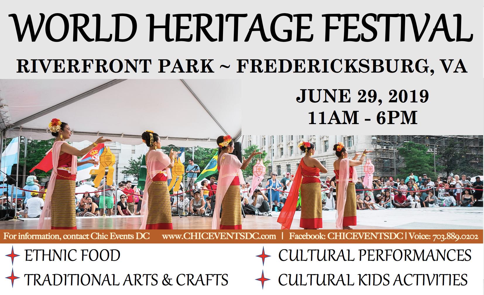 Riverfront Park – World Heritage Festival
