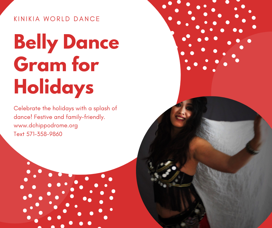 Belly Dance Grams for Holiday Parties